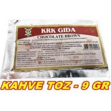 Toz Gıda Boyası Krk Marka Kahve 1 Adet 9 Gr