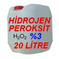 Hidrojen Peroksit %3 Lük 20 Litre - Oksijenli Su