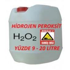 Hidrojen Peroksit %9 Luk 20 Litre