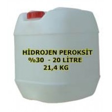 Hidrojen Peroksit %30 Luk 20 Litre - Perhidrol