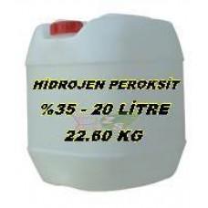 Hidrojen Peroksit %35 Lik 20 Litre