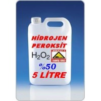 Hidrojen Peroksit %50 Lik 5 Litre
