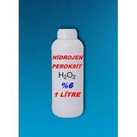 Hidrojen Peroksit %6 Lık 1 Litre
