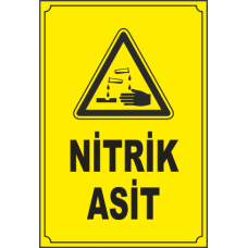 Nitrik Asit %55 Lik 1 Litre - 1.4 Kg