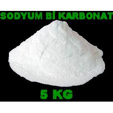 Sodyum Bi Karbonat 5 Kg - Gıda Tipi