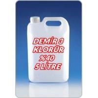 Demir 3 Klorür Sıvı 5 Litre - 7.5 Kg