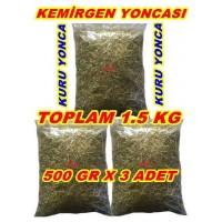 Kemirgen Yoncası - 500 Gr X 3 Paket - 1.5 Kg Yonca