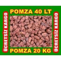 Tarım Pomzası Bazik Pomza Lav Taşı 40 Litre 20 Kg