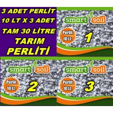 Tarım Perliti 10 LT x 3 Adet - 30 Litre