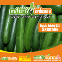 Topraksiz Salatalık Yetiştiriciliği Besin Kiti - Toz Besin Eriyiği