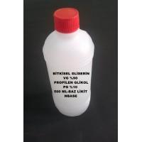 Bitkisel Gliserin (90) Ve Mono Propilen Glikol (10) Karışımı VG/PG - 90/10 500 ML
