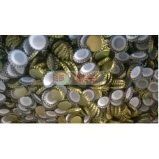 Şişe Kapağı Gazoz Soda Gold Sarı Kapak 100 Adet