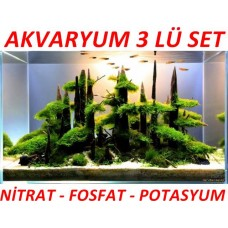 Akvaryum 3Lü Set Ana Besin Maddeleri