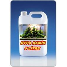 Bitkili Akvaryum Sıvı Demir Besini 5 Lt - DTPA
