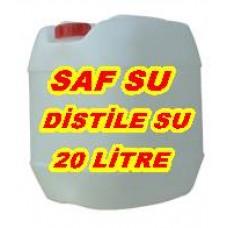 Distile Su Akvaryum ve Etobur Bitkilere Saf Su  20 Litre