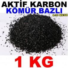 Aktif Karbon Kömür Bazlı Filtre Malzemesi Granül 1 Kg