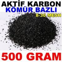 Aktif Karbon Kömür Bazlı Filtre Malzemesi Granül 500 Gr