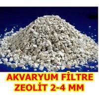 Zeolit Akvaryum Filtre 2-4 MM KLİNOPTİLOLİT 1 KG