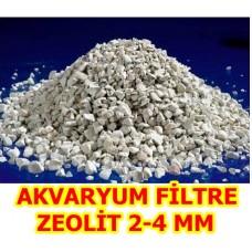 Zeolit Akvaryum Filtre 2-4 MM KLİNOPTİLOLİT 25 KG