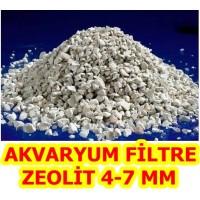 Zeolit Akvaryum Filtre 4-7 MM KLİNOPTİLOLİT 1 KG
